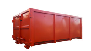 Odkryty kontener KP 10 do transportu hakowego