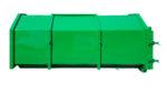 Zakryty kontener KP 8 ze szczelną klapą