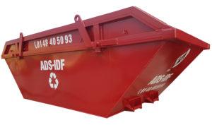 Kontener mulda M8 na odpady remontowo-budowlane