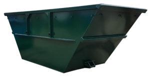 Symetryczny odkryty kontener mulda M10