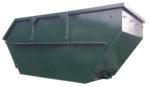 Asymetryczny kontener mulda M7 z uchylna klapą
