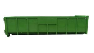 Odkryty kontener rolkowy KP 20 DH
