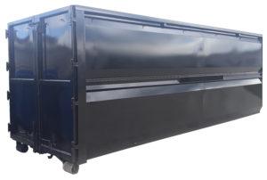 Odkryty kontener na odpady drewniane KP 40 Hardox