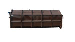 Kontener KP 38 z przenośnikiem ślimakowym