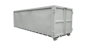 Zaakryty kontener KP 30 bez wręg na odpady selektywne