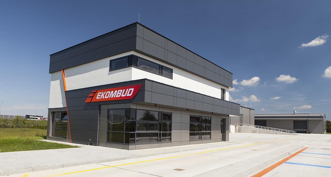 Ekombud - budynek firmy
