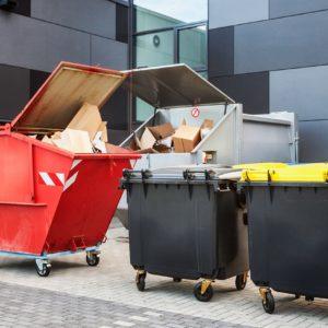 Kontenery na odpady - ich rodzaj zależy od rodzaju odpadów
